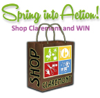 Shop Claremont and Win!