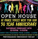 Dance Street West Open House