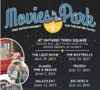 Ontario Movies in the Park