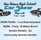 San Dimas High Car Show