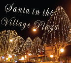 Santa in the Glendora Village