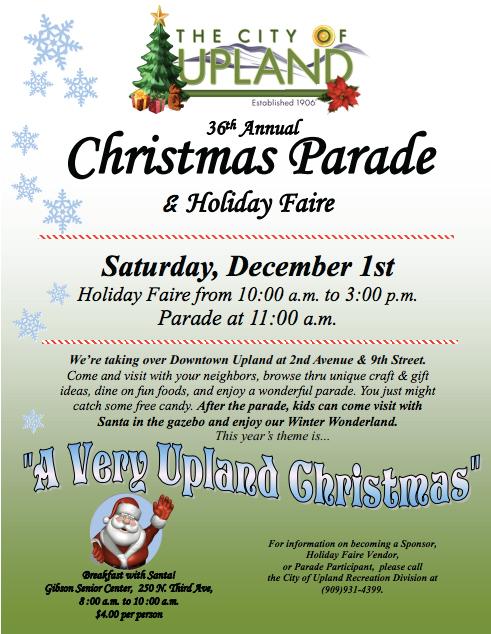 Upland Christmas Parade 2020 Upland Christmas Parade « Local Loyalty Rewards – Inland Empire's